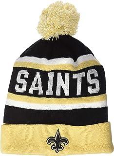 OTS NFL Men's Jasper Cuff Knit Cap with Pom