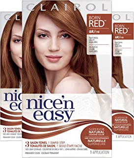 Clairol Nice'N Easy  Original  6R Natural Light Auburn (Pack of 3)