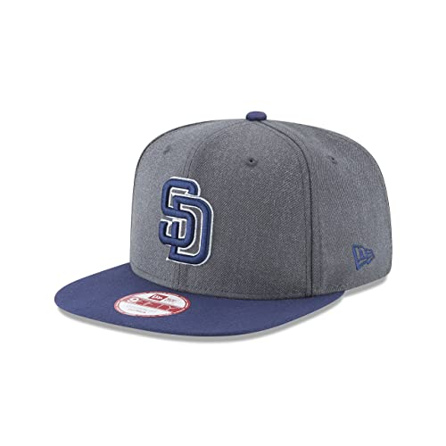 outlet store e19ae 82a94 New Era MLB Heather Graphite 9FIFTY Snapback Cap