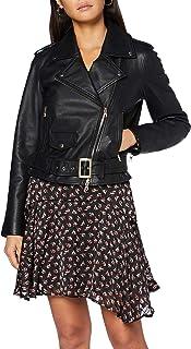 Armani Exchange Blouson Jacket Chaqueta de cuero para Mujer