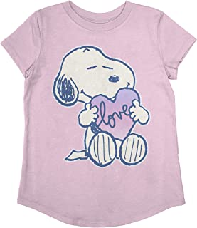 Jumping Beans Toddler Girls Snoopy Love SS Tee