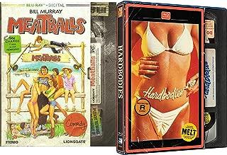 Classic Raunchy 80's Blu Ray Collection - Meatballs & Hardbodies 2-Blu-ray Bundle Bill Murray