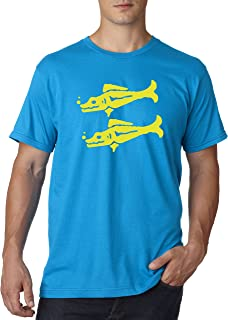 813 - Unisex T-Shirt Legends Hidden Temple LOTHT [Blue Barracudas]