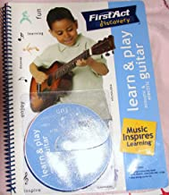 Learn & Play Acoustic & Electrical Guitar: Young Beginners (FirstAct Discovery, Play-along CD and instruction book with chords, exercises and songs)