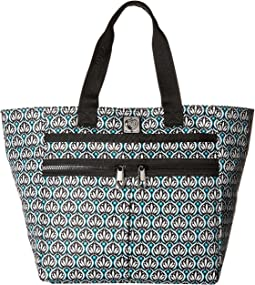 Brighton - Tangier Tile Lock It Super Tote