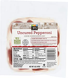 365 Everyday Value, Uncured Pepperoni Slices, 5 oz