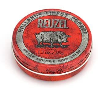 REUZEL Red Pomade Water Soluble High Sheen, 1 x 35 g