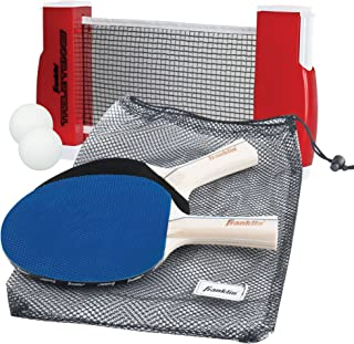 Franklin Sports Table Tennis to-Go – Complete Portable Ping-Pong Set
