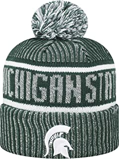 Top of the World Men's NCAA Glacier Cuffed Knit Beanie Pom Hat