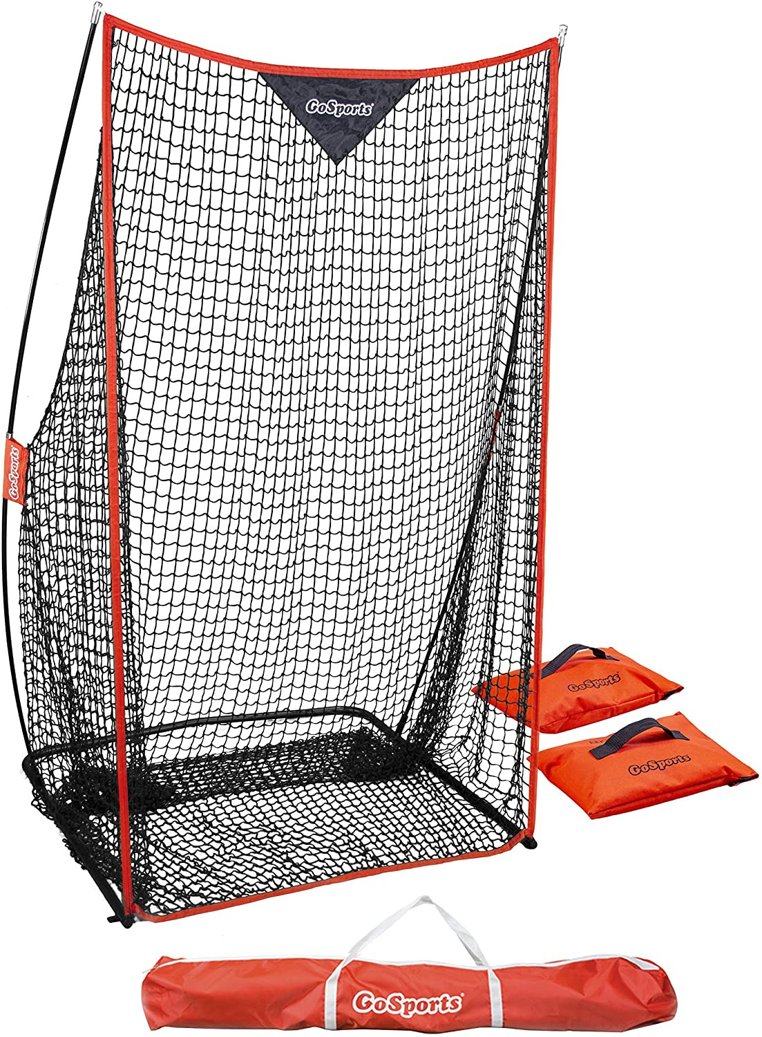 GoSports Football 7' x 4' Kicking - Max 89% OFF Manufacturer OFFicial shop Sideline Pu Net Practice for