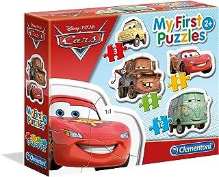 """Clementoni 20804.3 - puzzel""""Cars"""", 4 delen"""