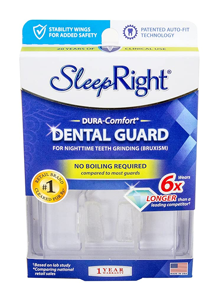 SleepRight Dura-Comfort Dental Guard – Mouth Guard To Prevent Teeth Grinding