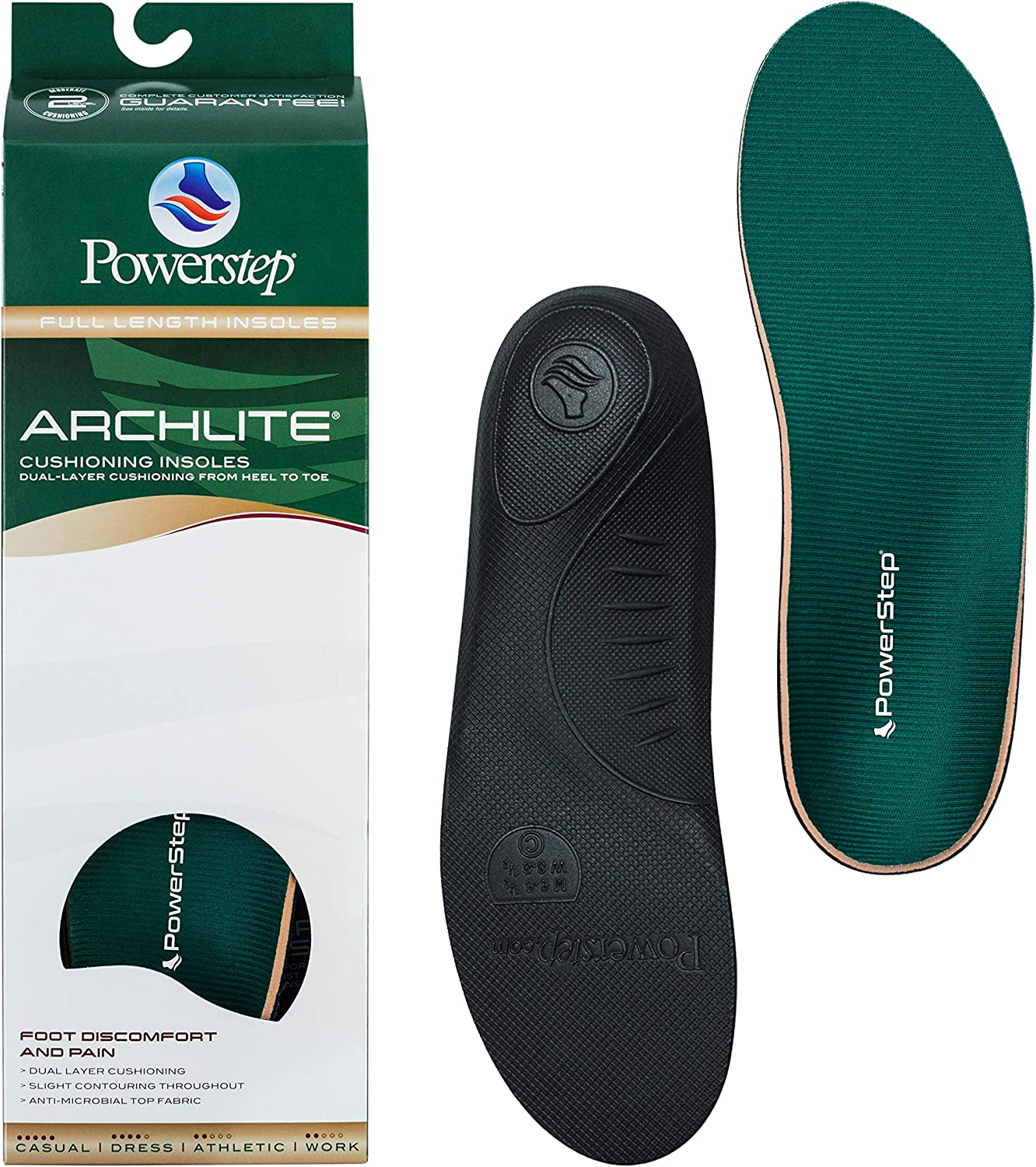 Seattle Mall Powerstep ArchLite sold out Insoles Orthotic