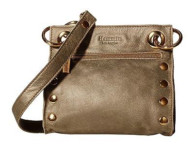 Hammitt Tony Small (Pewter/Gold) Cross Body Handbags