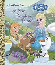 A New Reindeer Friend (Disney Frozen) (Little Golden Book)