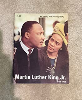 Vintage 1968 Martin Luther King Jr. ~ An Ebony Magazine Picture Biography