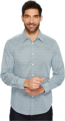 Perry Ellis - Mini Tile Kaleidoscope Shirt