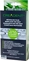 CREADENT Set für den Ersatz eines fehlenden Zahns durch einen provisorischen, kosmetischen Zahn