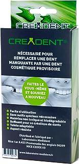 Kit para remplazar un diente faltante por un diente cosmético provisional