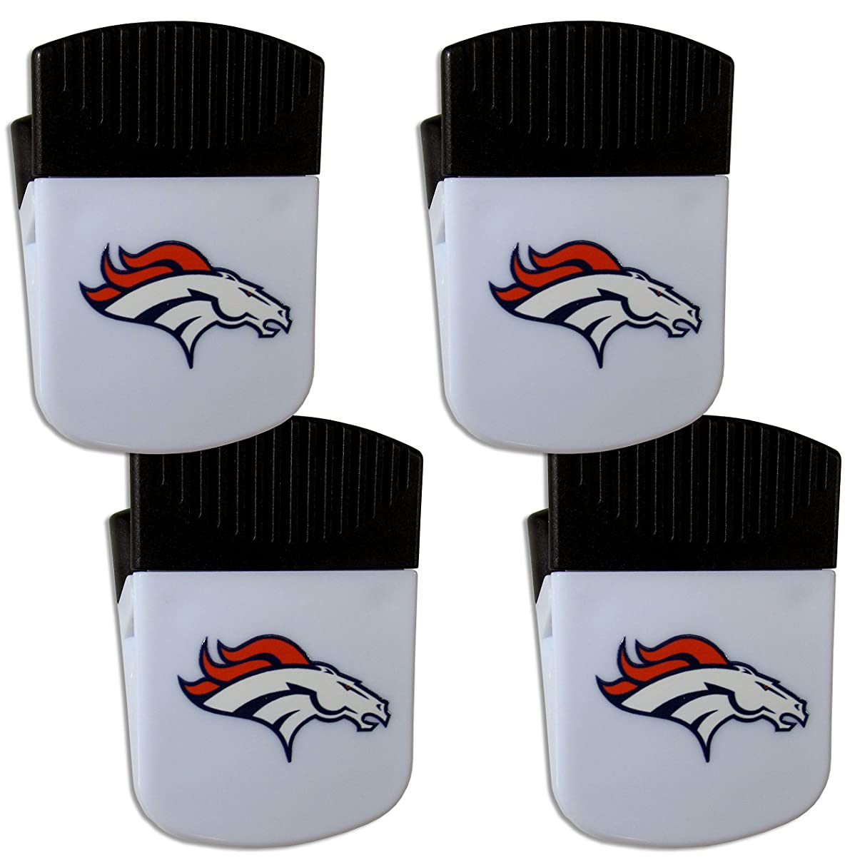 Siskiyou NFL Unisex Chip Clip Magnet with Bottle Opener, 4 Pack