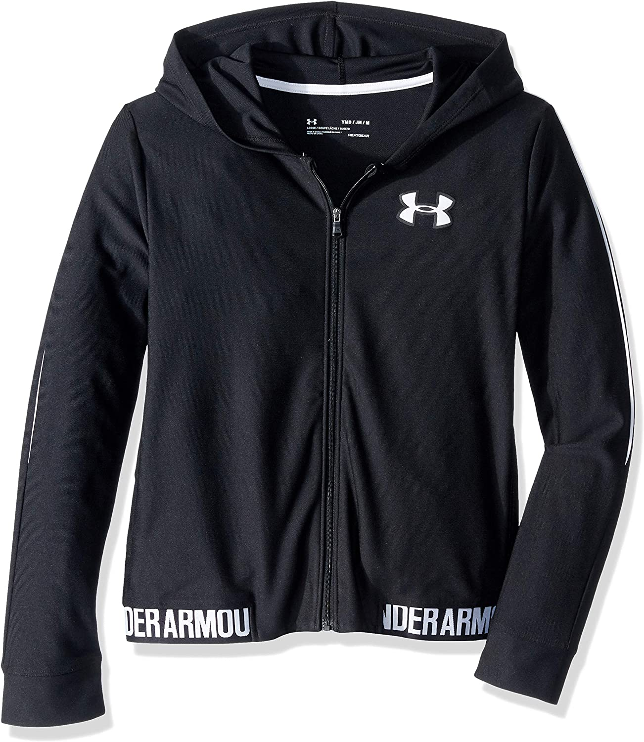 Under Armour Girls' Play Up Full Zip Jacket