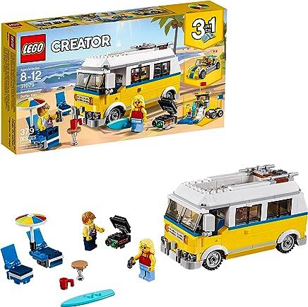 LEGO Creator 3in1 Sunshine Surfer Van 31079 Building Kit...