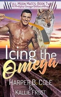 Icing the Omega: M/M Alpha/Omega Shifters MPREG (Full Moon Mates Book 2)