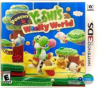 Poochy & Yoshi's Woolly World - Nintendo 3DS (World Edition)