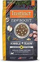 Instinct Raw Boost Grain Free Dry Cat Food, High Protein Kibble + Freeze Dried Raw Cat Food