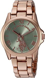 Women's Analog-Quartz Watch with Alloy Strap, Rose Gold,...