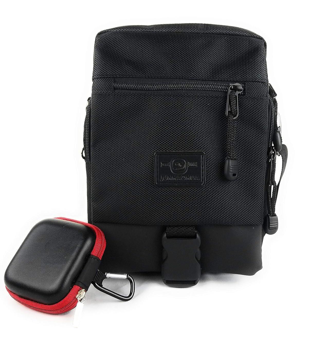 Compact Messenger Sling Crossbody Bag Satchel Perfect for iPad Mini, Kindle, E-Readers Men Women Students