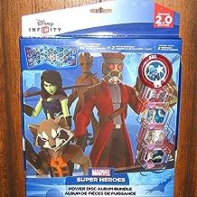 Disney Infinity 2.0 Marvel Guardians of the Galaxy Power Disc Album Bundle