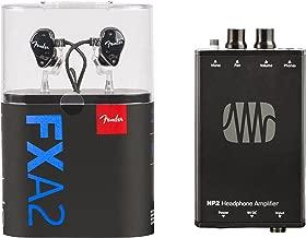 Fender MXA2 Bundle with FXA2 Pro In-Ear Monitors & PreSonus HP2 Headphone Amplifier