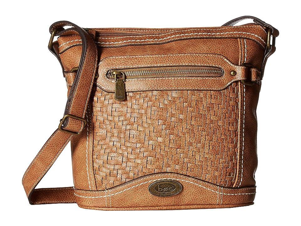 b.o.c. Cedarton Crossbody (Saddle) Handbags, Brown