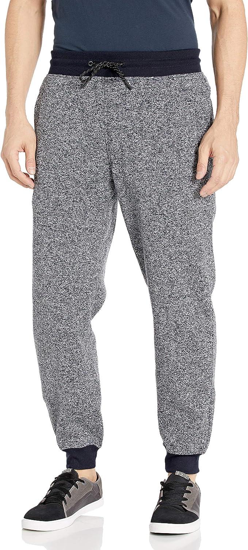 WT02 Men's Basic Dallas Mall Jogger Fleece XX-Large Blue Now free shipping Marled Pants
