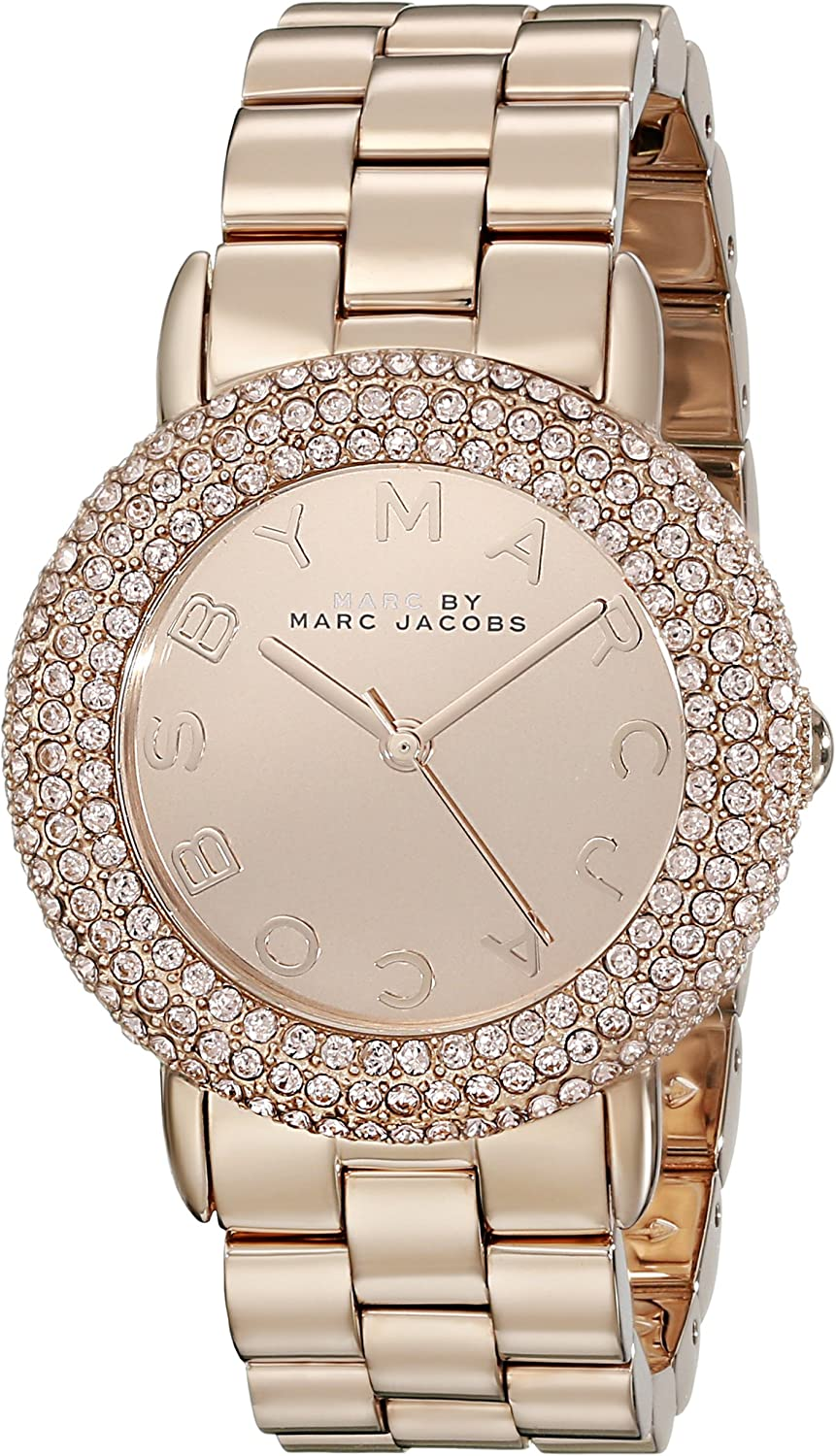 Time sale Marc by Jacobs Women's MBM3192 Display Max 69% OFF Analog Marci
