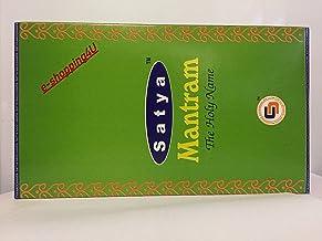 Satya ( MANTRAM ) Incense Sticks 12 Packsx 15g