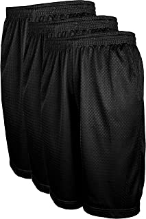 TOP LEGGING Athletic Active Men's Workout Running Training Mesh Shorts with Pockets (S-5XL)