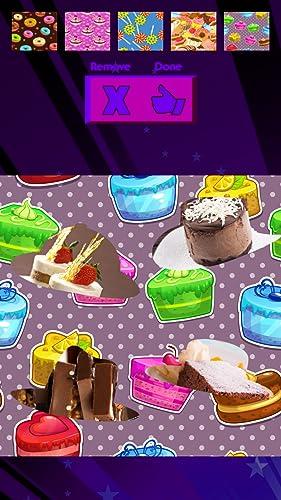 Collage de la foto de los convites dulces