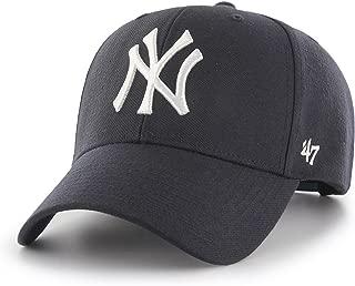'47 Forty Seven Brand MVP New York Yankees Curved Visor Snapback Cap Navy MLB Limited Edition