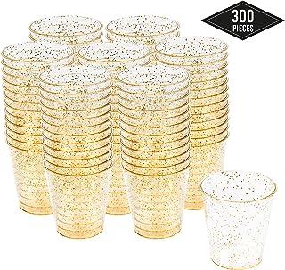 300 Vasos de Chupito Desechables de Plástico Duro con