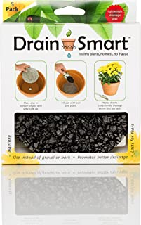 "Drain Smart 6"" Drainage Discs - Perfect for Indoor/Outdoor Potted Plants 