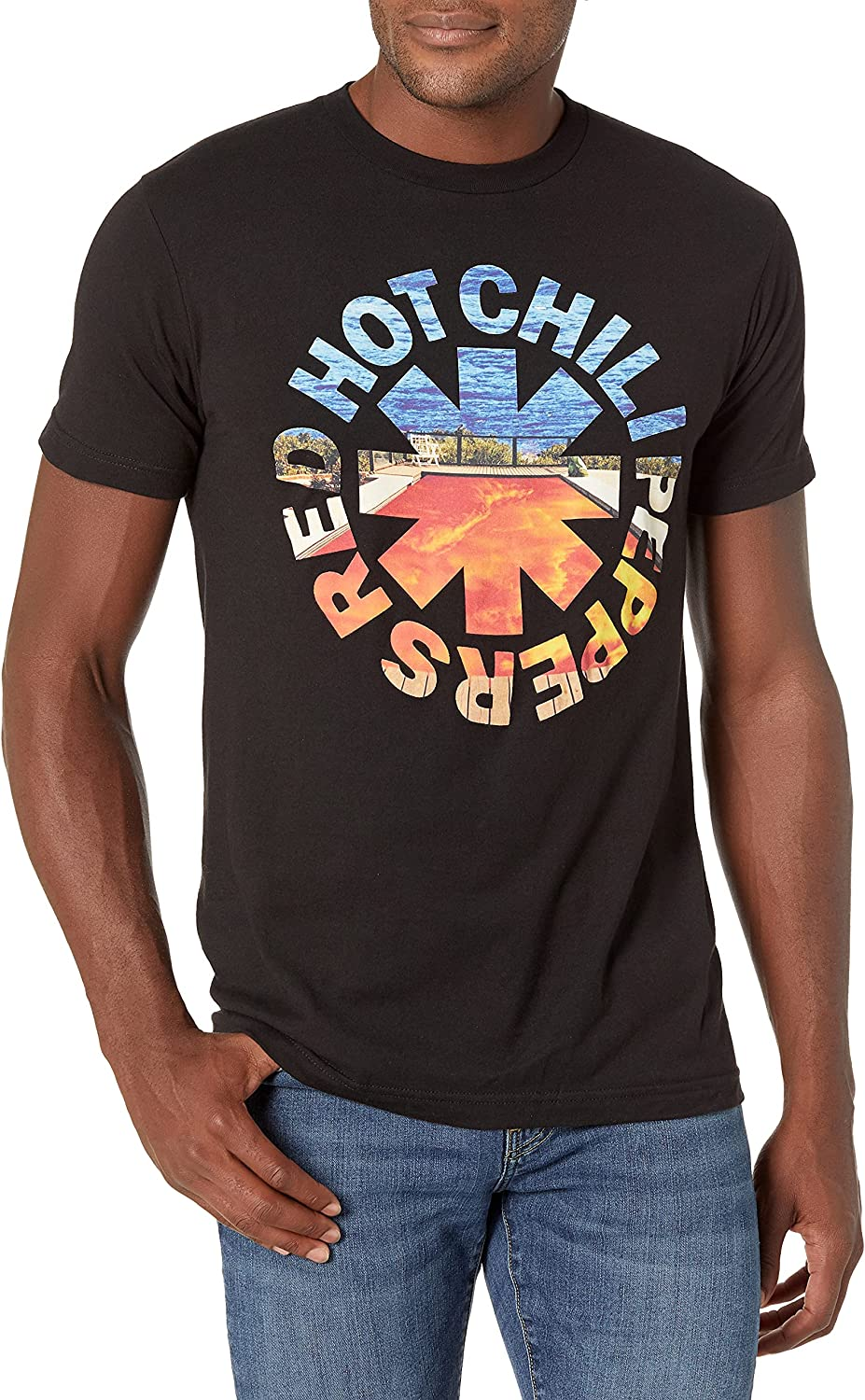 Red Hot Chili Peppers Men's Official Californication Asterisk T-Shirt