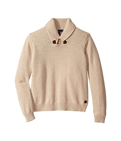 Janie and Jack Shawl Collar Sweater (Toddler/Little Kids/Big Kids) (Oatmeal) Boy