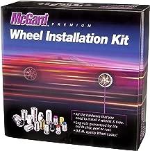 McGard 65515BK Chrome/Black Spline Drive 5 Lug Wheel Installation Kit