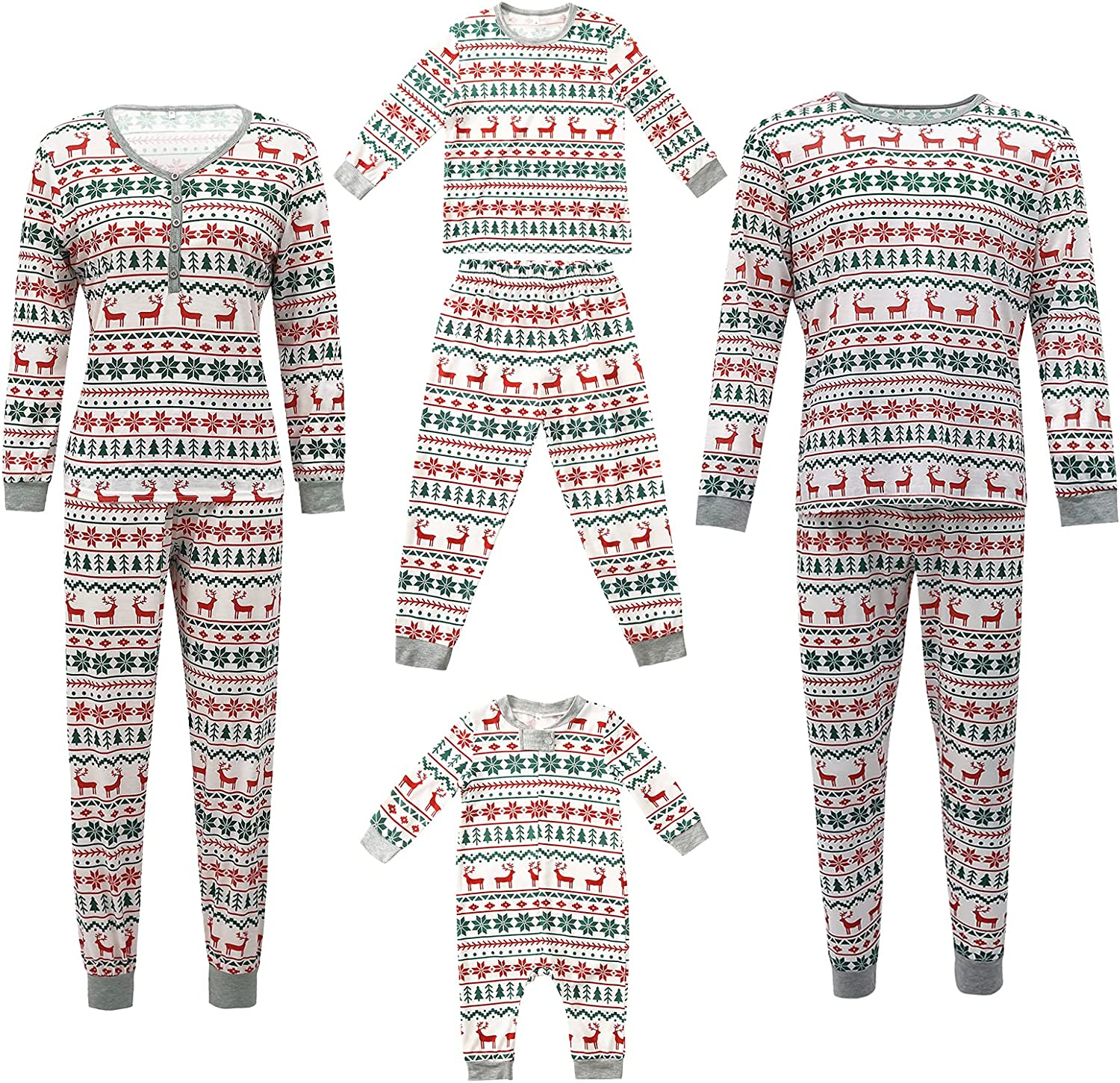 Matching Family Max 48% OFF Pajamas Sets Christmas Mail order Tree PJ's with