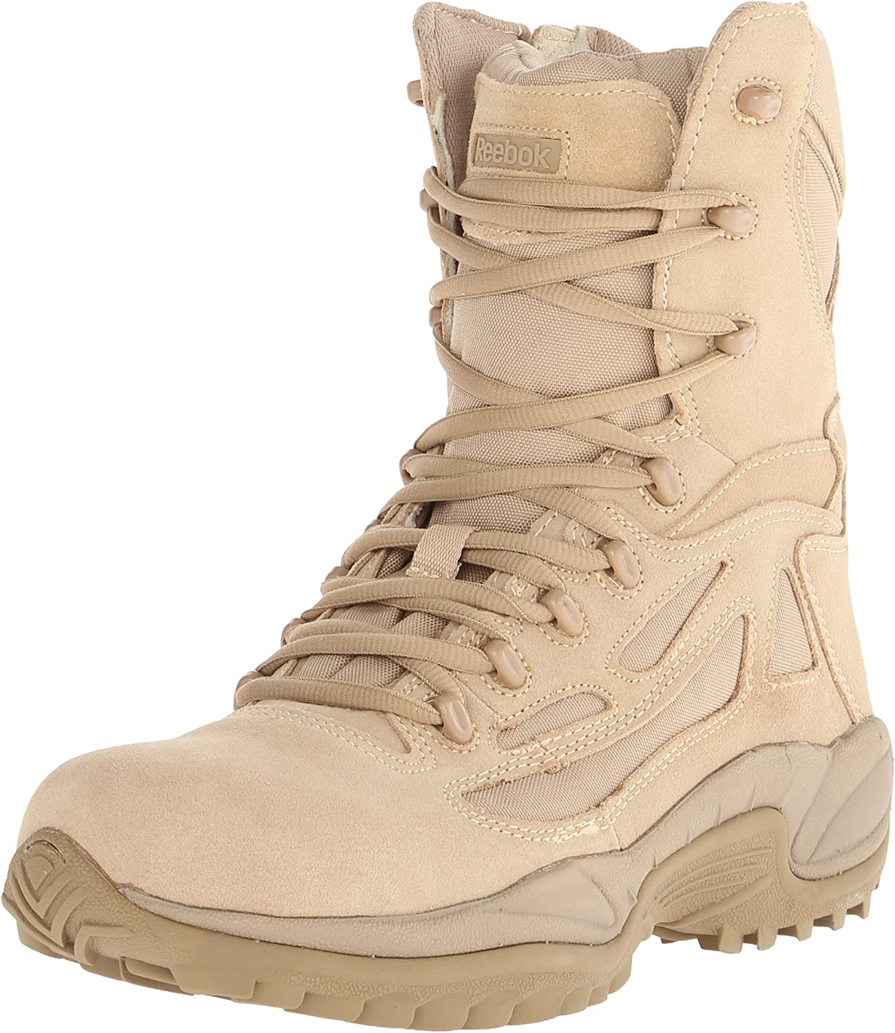 Reebok Military Rapid Response 8in Side Zip Military bottes