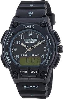 Timex Sport Ironman Triathlon 30 lap combo black dial - T5K202SU