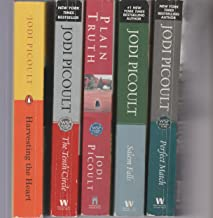 JODI PICOULT - SET OF 5 BOOKS - Plain Truth - The Tenth Circle - Salem Falls - Harvesting The Heart - Perfect Match.