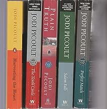 JODI PICOULT - SET OF 5 BOOKS - Plain Truth - The Tenth Circle - Salem Falls - Harvesting The Heart - Perfect Match.